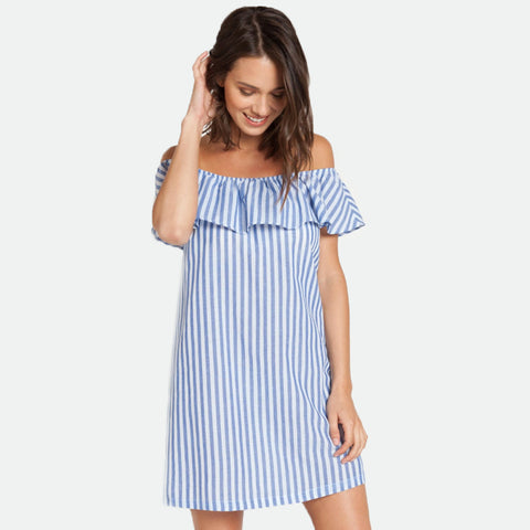 Carenza off the shoulder dress