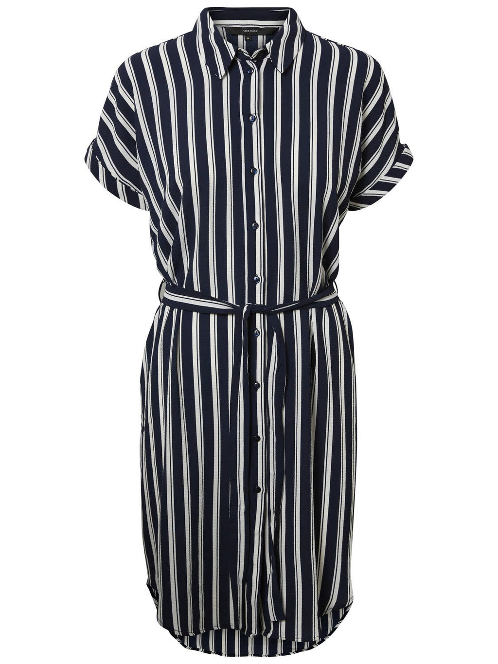 VERO MODA - VMSASHA SHIRT SS DRESS