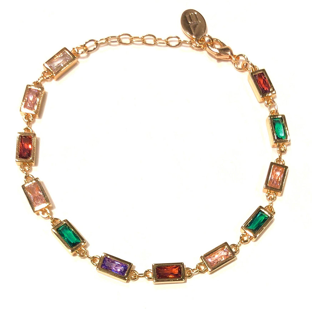 Nikki Smith Designs - Gem Chain Bracelet