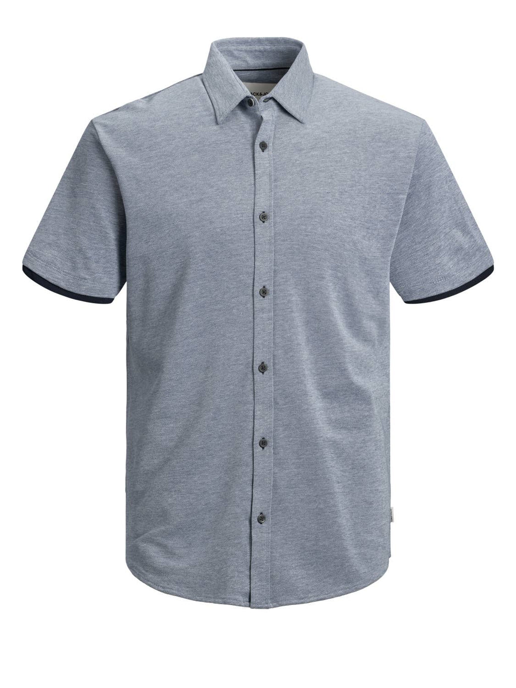 Jack & Jones - Jack & Jones 100% Cotton Pique Short Sleeve Shirt