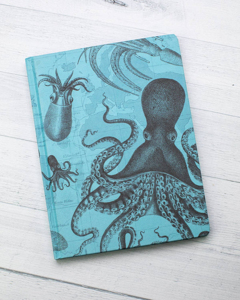 Cognitive Surplus - Cephalopod Vintage Hardcover w/ Lined/Grid