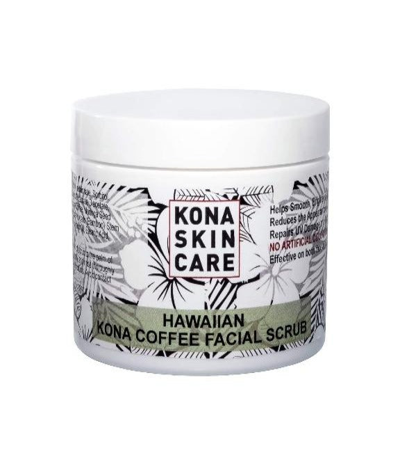 Kona Skin Care - Kona Coffee Facial Scrub