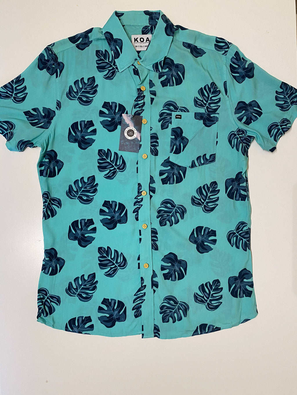 KOA Clothing Company - Monstera Shirt