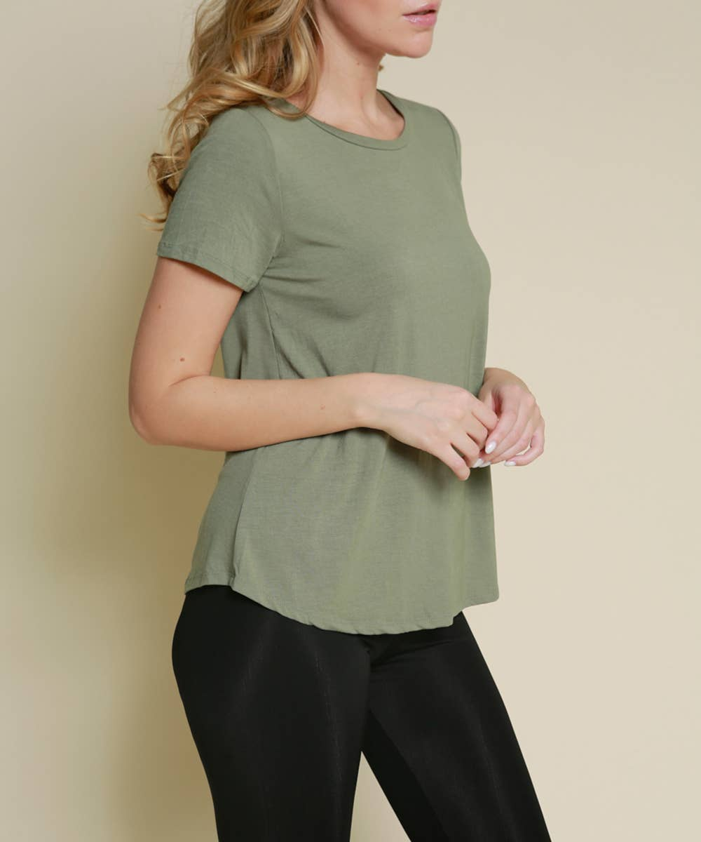 Studio Ko Clothing - BAMBOO RELAX FIT CLASSIC TOP