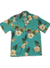Two Palms- Ceres Green mens rayon shirt