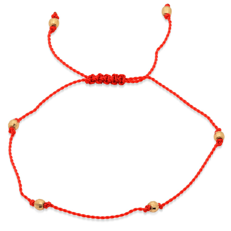 The Red String Protection Bracelet