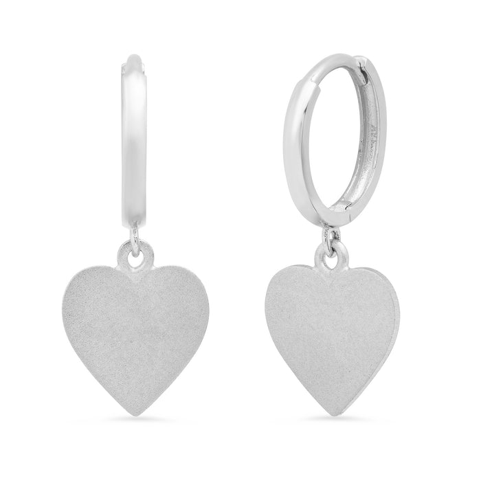 MS X SRJ Small Heart Earrings