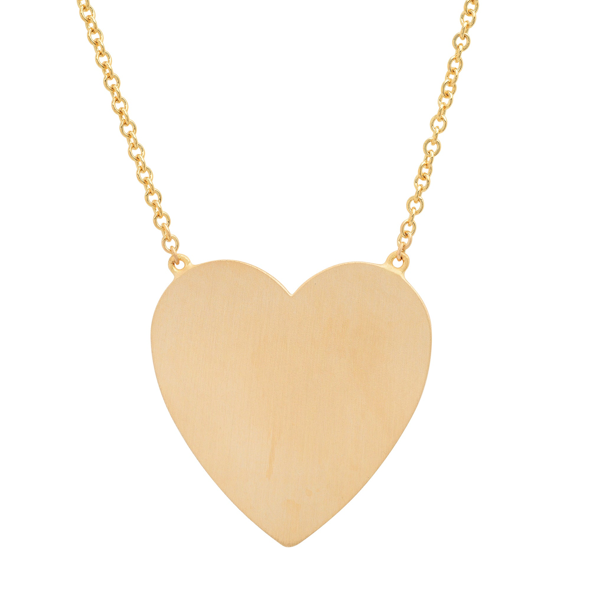 MS X SRJ Large Heart Necklace