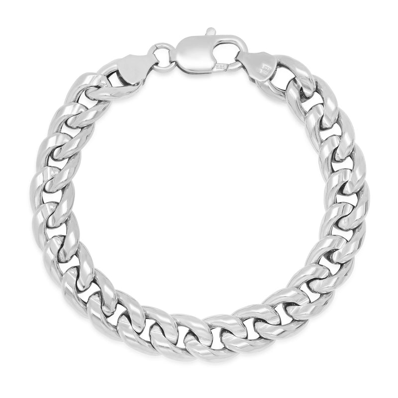Large Hollow Cuban Link Bracelet