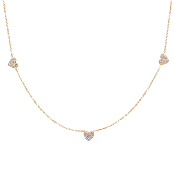 3 of Hearts Diamond necklace