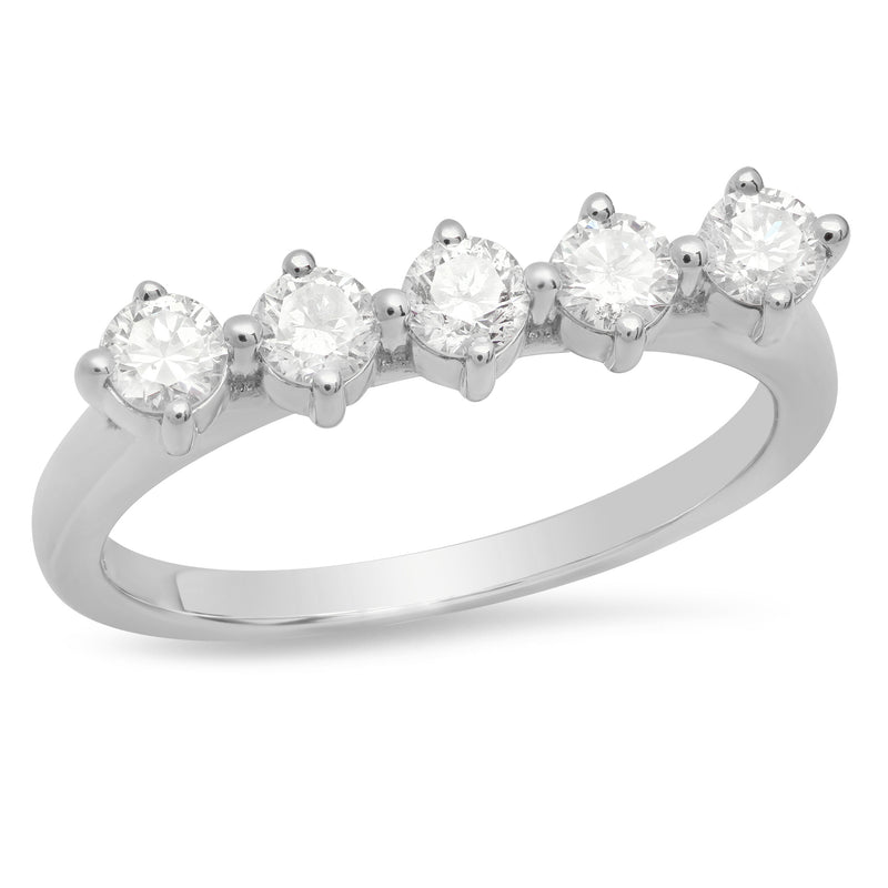 5 Diamond Punch Ring