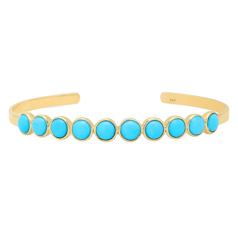 10 Turquoise Cuff
