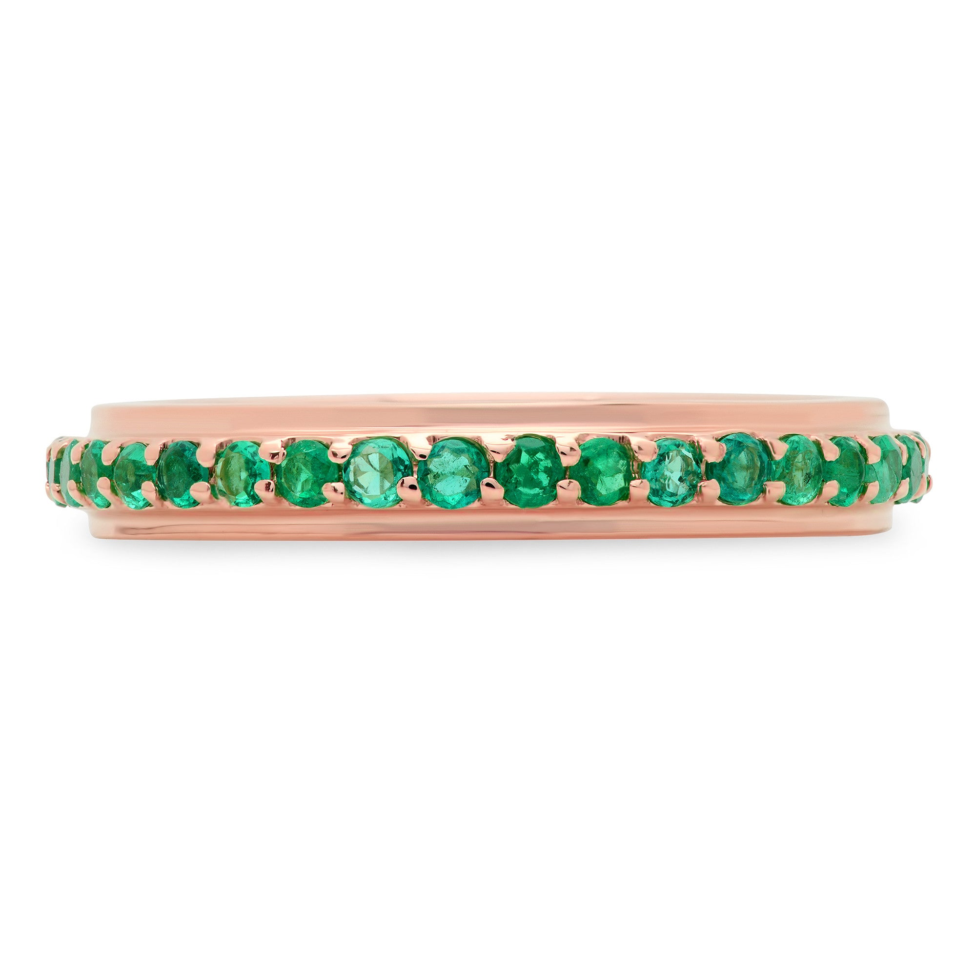 Emerald Eternity Band