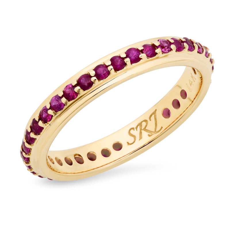 Ruby Eternity Band