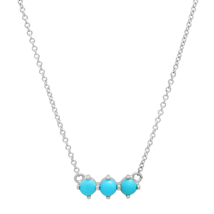 3 Turquoise Necklace