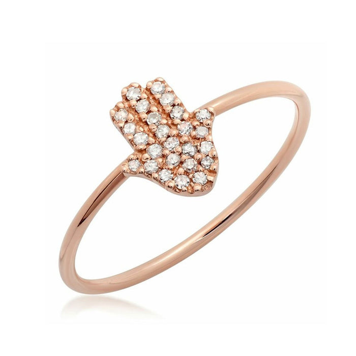 Chamsa Diamond Ring