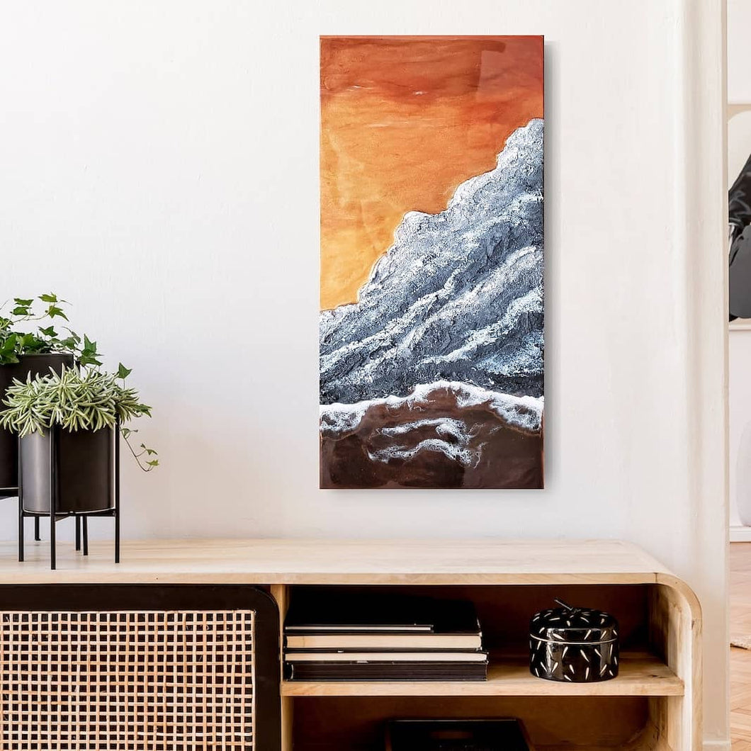 Copper Mountain Coastline Wall Art