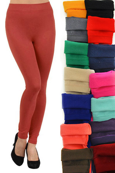 Women's Bliss Seamless Fleece Lined Legging