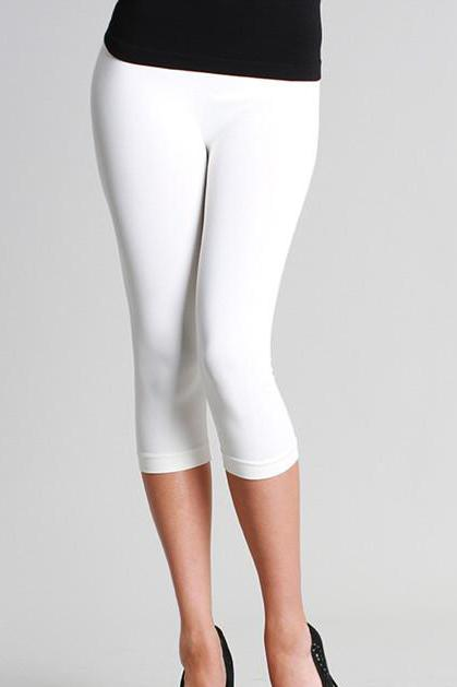 CAPRI LENGTH SEAMLESS LEGGINGS