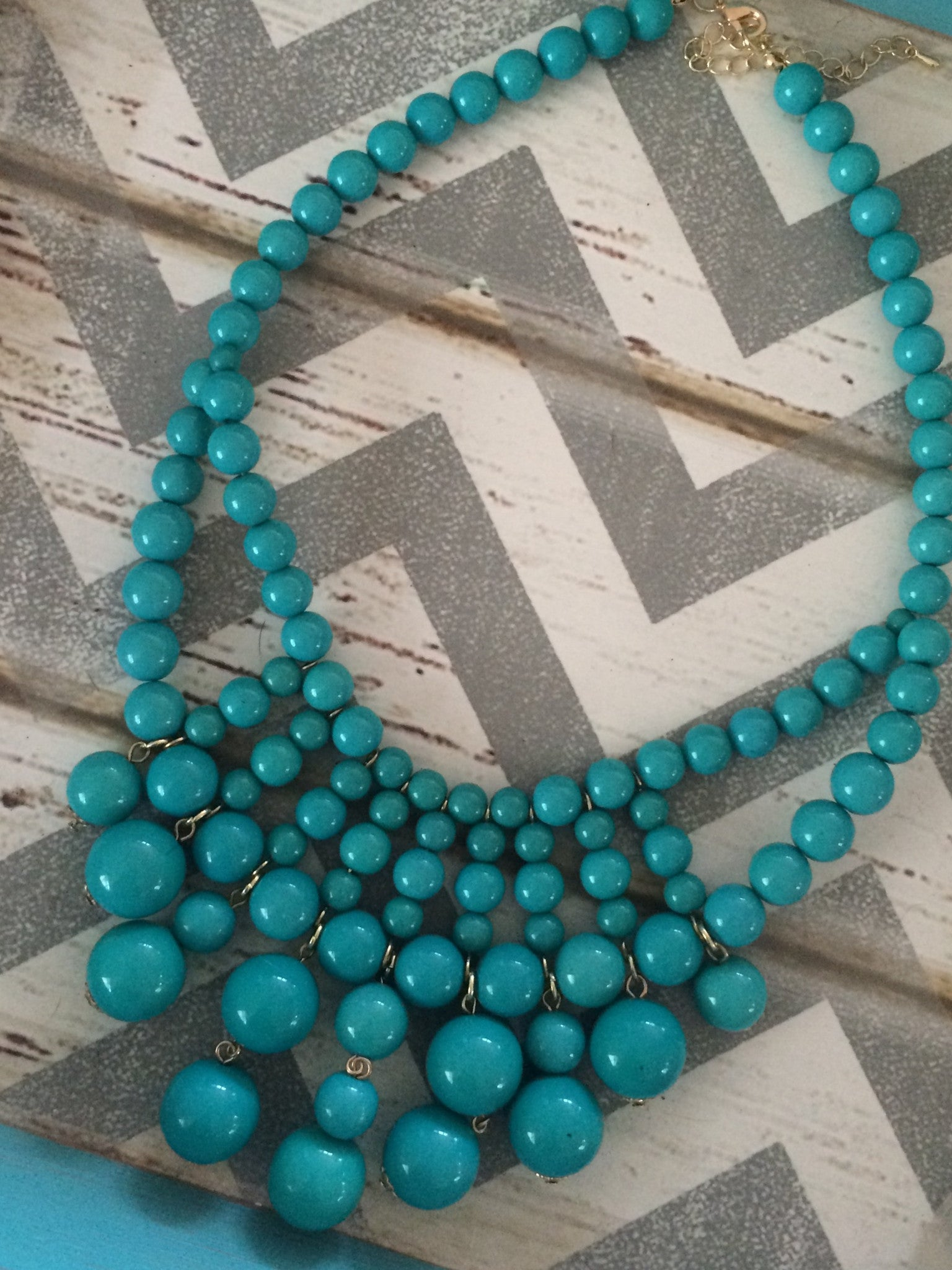 Beaded Bubble Necklace