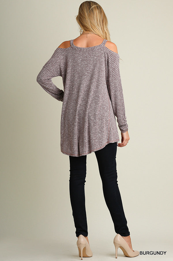 The Brynn Cold Shoulder Tunic