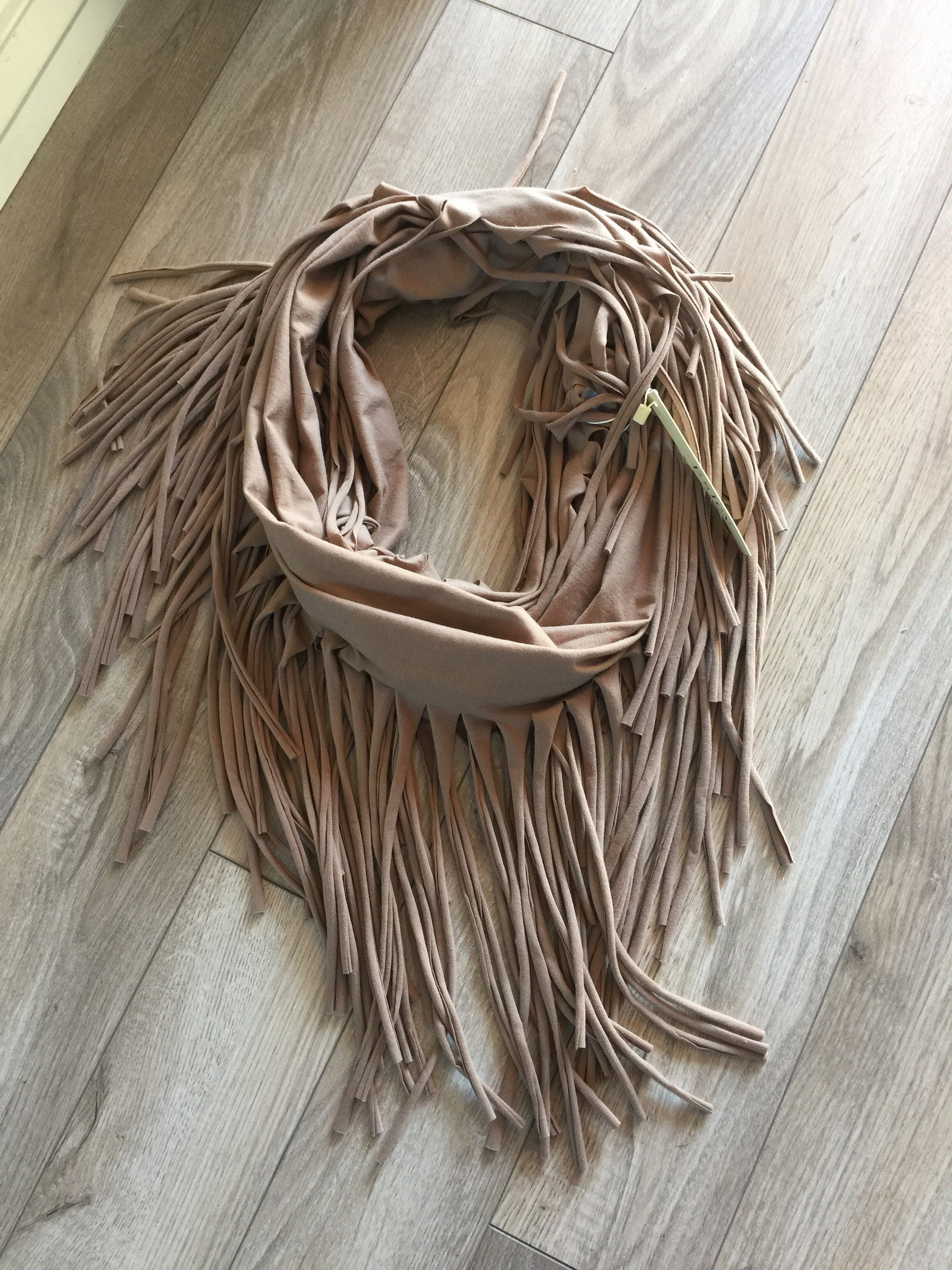 Fringe Benefits Fringe Eternity Scarf