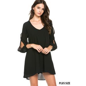 The Danika Open Sleeve Dress