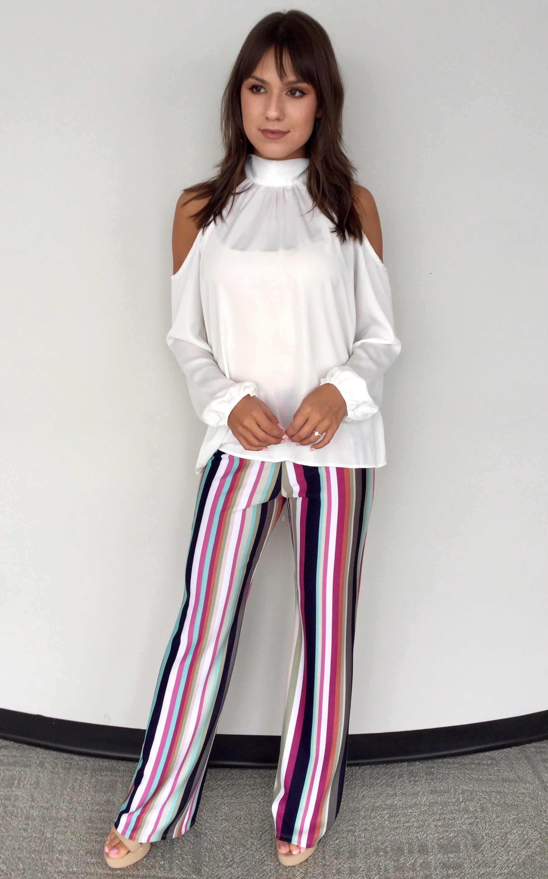 SUPER FUN STRIPED PANTS