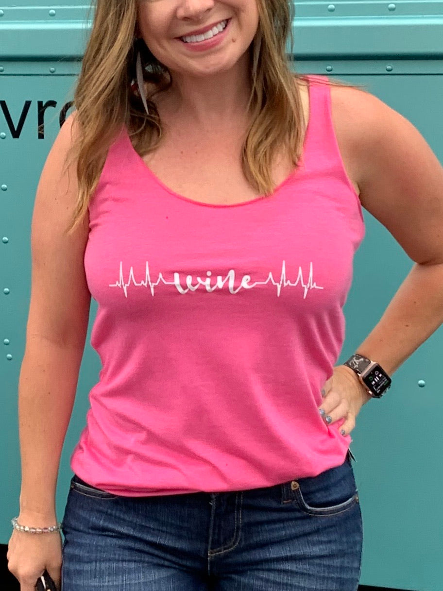 HEARTBEAT GRAPHIC TANK