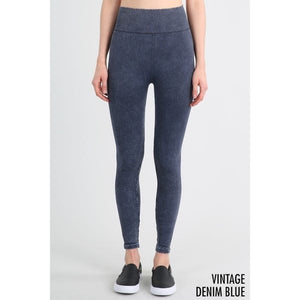 TEXTURED AND DETAILED VINTAGE LEGGINGS