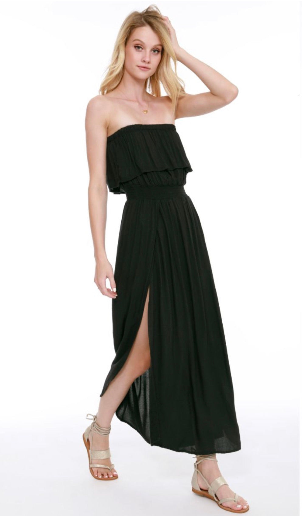 ALESSANDRA STRAPLESS DRESS