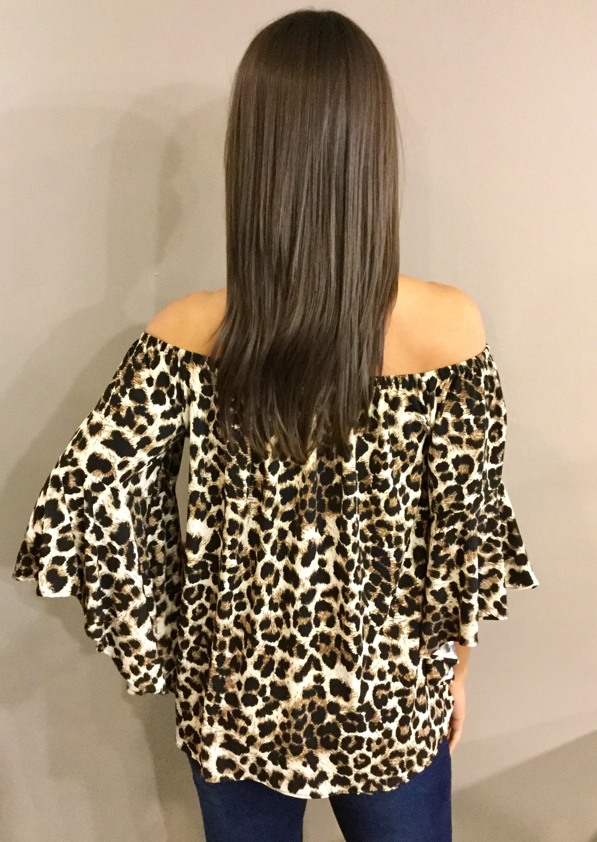 THE CAT'S MEOW LEOPARD PRINT TOP