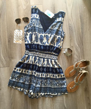 The Paisley Romper