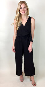 THE DEANDRA SLEEVELESS JUMPSUIT