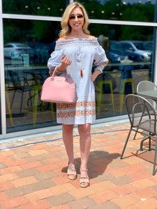 THE VIRGINIA OFF SHOULDER DRESS