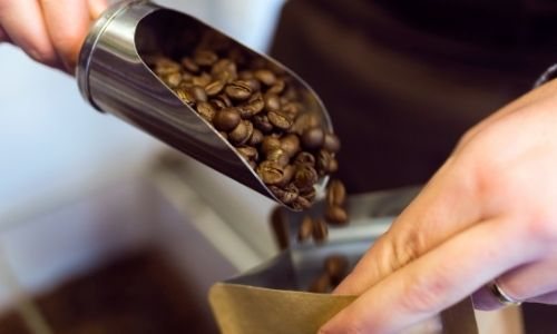 how should you store coffee beans that you get from the grocery store?