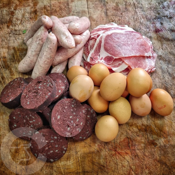 Start your day off right, with our Somerset Breakfast Box. We deliver to Bristol, Somerset, Bath, Weston Super Mare, Taunton, Newport, North Somerset, and Gloucestershire. Order your fish and meat with us today, order online or by phone.