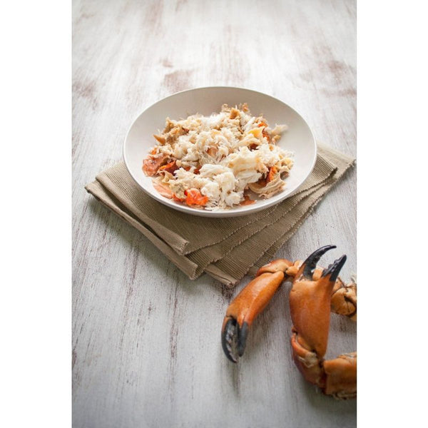 Handpicked Devon Crab Meat, 250g of white Crab meat delivered to your door. We deliver to Bristol, Somerset, Bath, Weston Super Mare, Taunton, Newport, North Somerset, and Gloucestershire. Order your fish and meat with us today, order online or by phone.