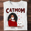 Cat Mom - Personalized Custom Unisex T-shirt