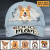 Dog's Mom 3D Style- Personalized Cap