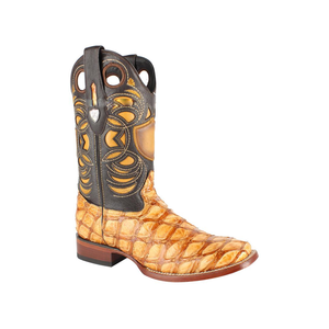 Men's Wild West Pirarucu Fish Boots Handcrafted - 28241002
