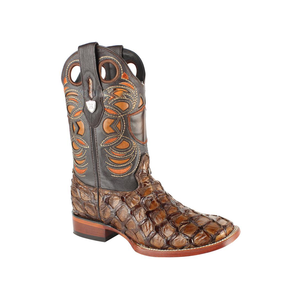 Men's Wild West Pirarucu Fish Boots Handcrafted - 28241007