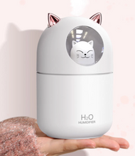 Load image into Gallery viewer, Cute Cat Ultrasonic Mist Humidifier