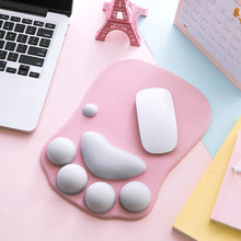 Load image into Gallery viewer, Kawaii Cat Paw Silicone Mouse Pad