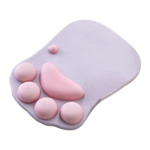 Kawaii Cat Paw Silicone Mouse Pad