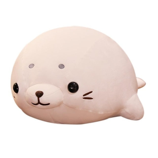 Squishy Lying Seal Plush