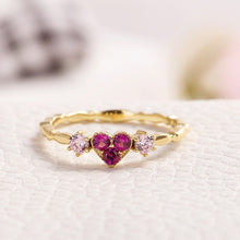 Load image into Gallery viewer, Sailor Moon Inspired Pink Heart Ring