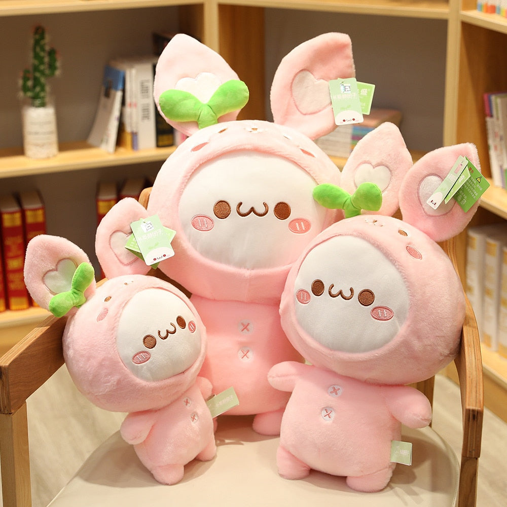 Cute Rabbit Dumpling Plush