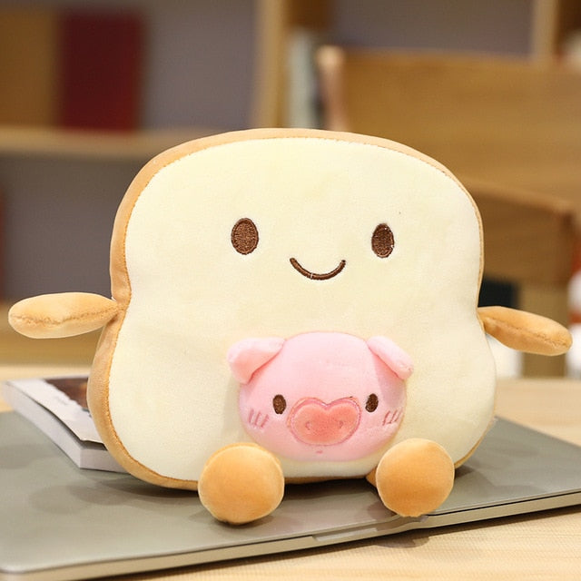 Kawaii Animal Toasty Plushies