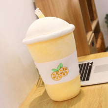 Load image into Gallery viewer, Kawaii Milk Bubble Tea Cup Plushies